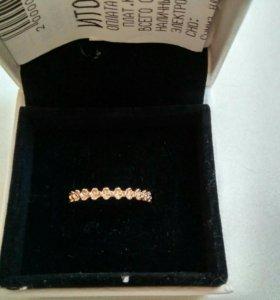 Золотое кольцо Pandora