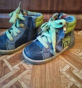 Ботинки осенние 27