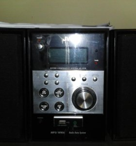 Музыкальный центр JVC MP3 - CD