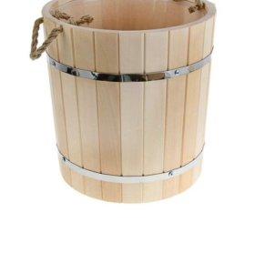 Запарник с пластиковой вставкой для бани