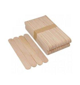 Шпатель деревянный, Depiltouch, 100 шт
