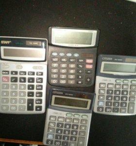 Четыре калькулятора всего за 400 рэ