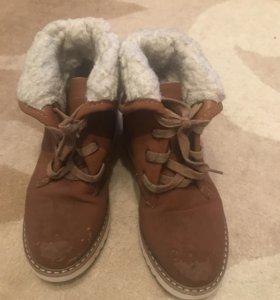 Ботинки зимние р 36-37