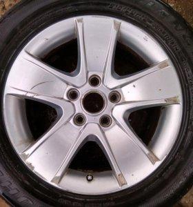 Оригинальные диски Skoda Octavia 5*112 R16
