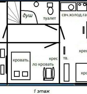 Коттедж, 60 м²