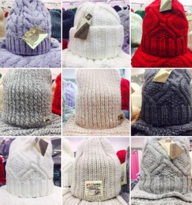 Комплекты шапка+сунд, новые