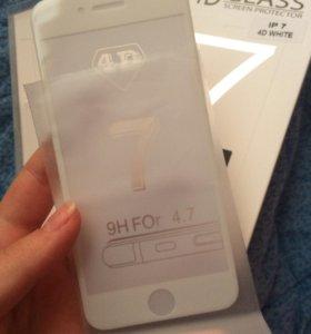 Стекла на iPhone 7