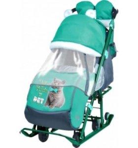 Ника Детям 7-2 санки-коляска