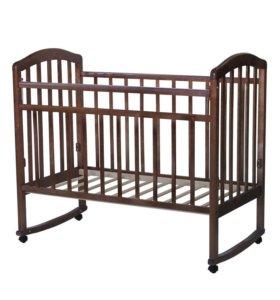 Кроватка для новорождённых (с матрасом)