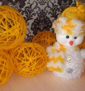 Декоративные шарики.