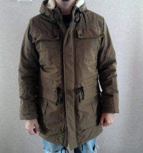 Куртка зимняя мужская Bershka