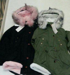Новая модная зимняя парка