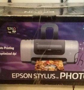 Цветной струйный принтер epson stylus photo 830