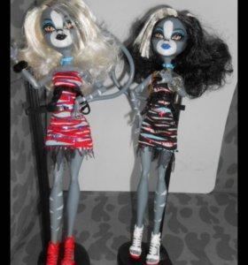 Кукла monster high Пурсифона и Мяулодоя