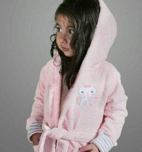 Халатик детский для девочки