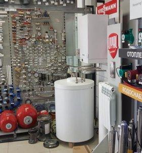 Монтаж газовых котлов и теплых полов