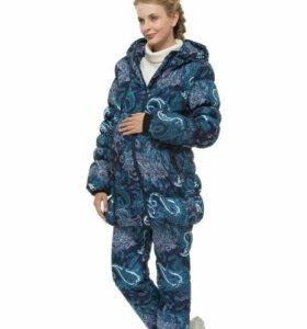 Куртка+брюки  2в1 для беременных.Зима