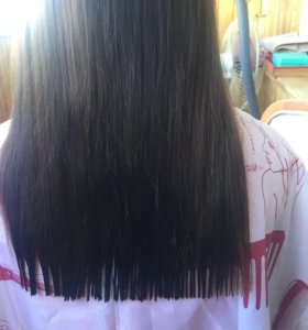 Подстригу кончики волос