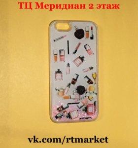 Чехол для iPhone 6/6S с жидкостью
