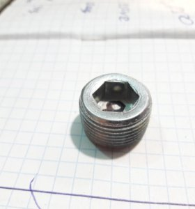 Пробка ВАЗ-2101-07 коллектора коническая М20*1,5