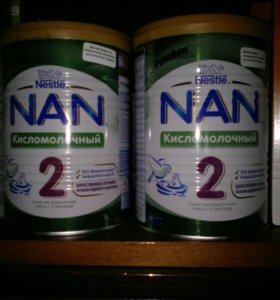 Кисло молочная смесь нан