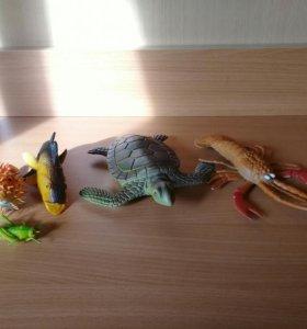 Игрушки морские обитатели