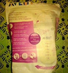 Пакеты авент для заморозки грудного молока
