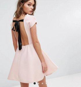 Розовое платье ASOS