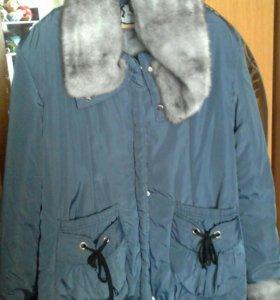 Новая куртка - пуховик 56 размер