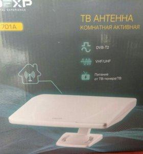 ТВ антенна активная (новая)