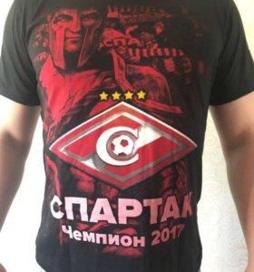 Футболка Спартак Чемпион 2017