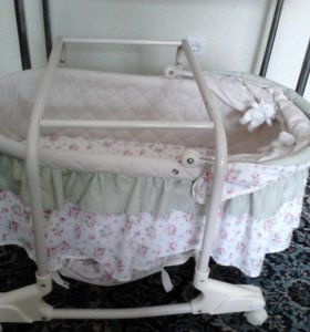 Люлька кроватка на колесиках