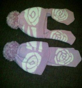 Зимняя шапки новые