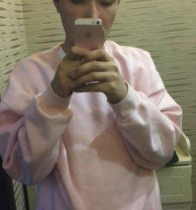 Розовый свитер, унисекс