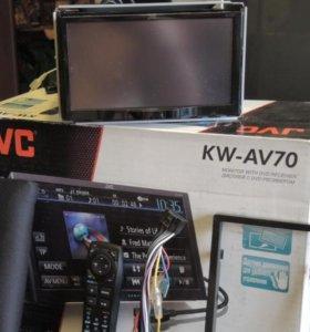 Автомагнитола JVC KW-AV70