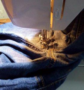 Укорачивание джинс, футболок