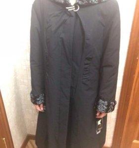 Женское пальто. Утепленное. Новое, с этикетками