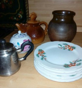 Посуда советского времени