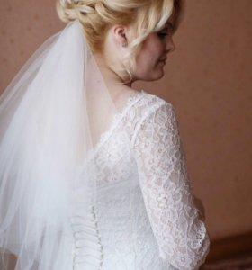 Свадебное платье в отличном состоянии!!!