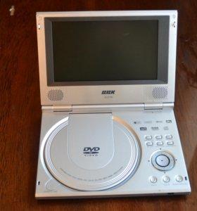 Продается DVD-плеер ВВК-373L с антишоком.