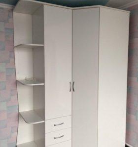 Новый угловой шкаф