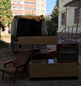 Вывоз мебели, быт.техники, хлама