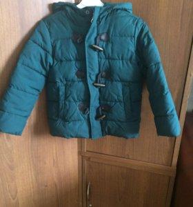 Курточка демисезонная на 6 лет