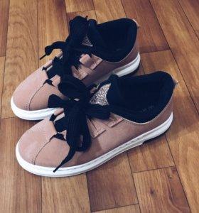 Ботинки под замшу