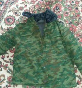 Новый зимний мужской военный костюм