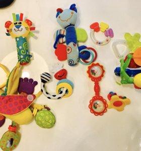 Пакет игрушек и грызунов для малышей