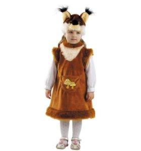 Карнавальный костюм - Белочка