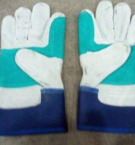 Перчатки комбинированные, монтажные