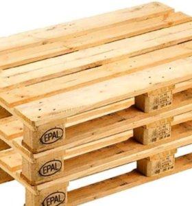 Поддоны паллеты деревянные бу