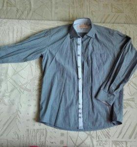 Рубашка школьная, 2 штуки